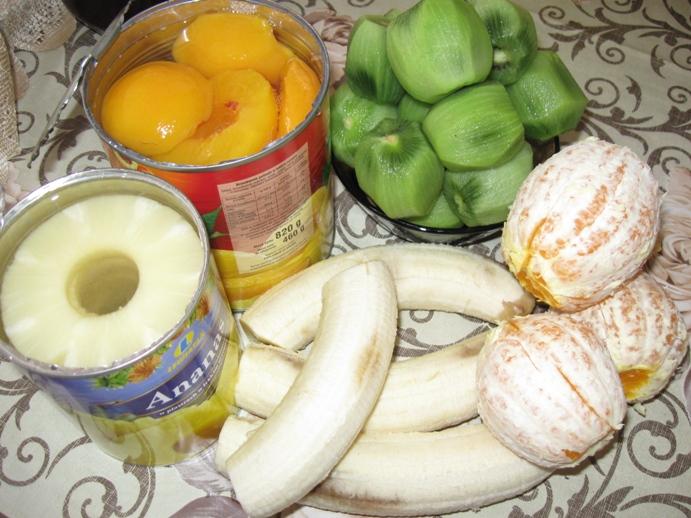sałatka owocowa owoce
