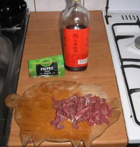wołowina - marynata